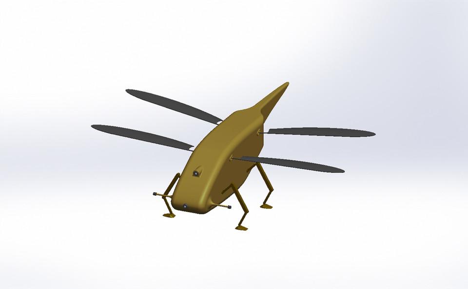 Anh sản xuất máy bay do thám nhỏ như chuồn chuồn - 1