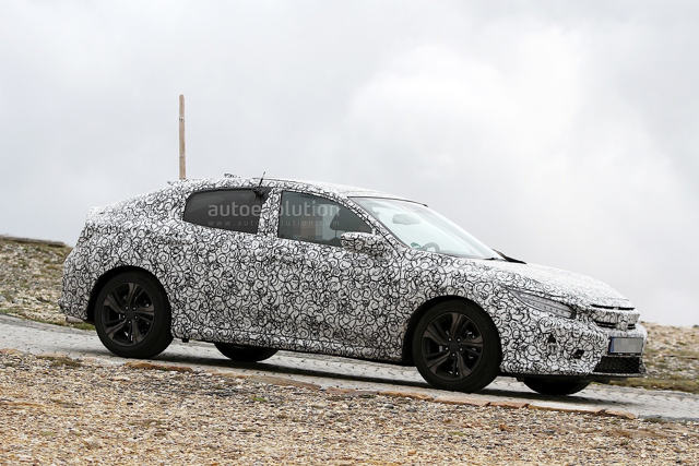 """Honda Civic X """"lộ diện"""" trước giờ tới Mỹ - 3"""