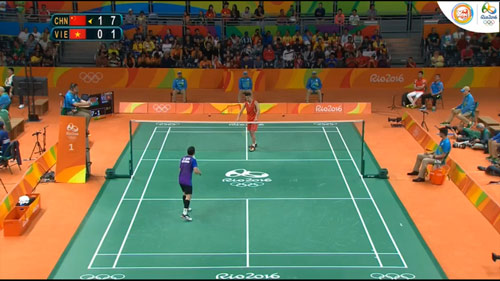 Đoàn Việt Nam ở Olympic ngày 9: Tiến Minh thua nhanh Lin Dan - 1