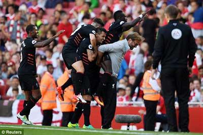 Chi tiết Arsenal - Liverpool: Kịch tính đến phút cuối (KT) - 8