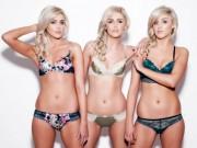 Bạn trẻ - Cuộc sống - Chị em sinh 3 xinh đẹp, quyến rũ nhất thế giới