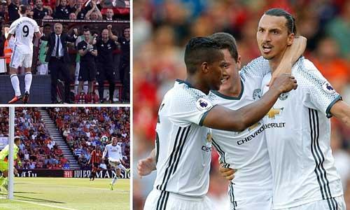 MU đại thắng, Mourinho không tin Ibra 34 tuổi - 1