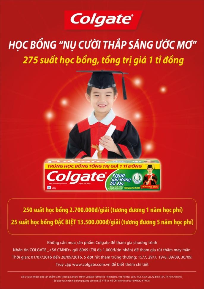 Hành trình quỹ học bổng Colgate: Vì các em xứng đáng - 4