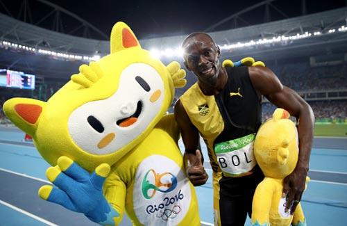 """Chấp đối thủ """"nửa đường"""", Bolt vẫn đoạt HCV Olympic 100m - 4"""