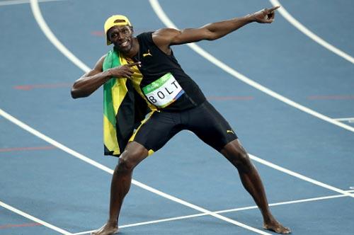 """Chấp đối thủ """"nửa đường"""", Bolt vẫn đoạt HCV Olympic 100m - 7"""