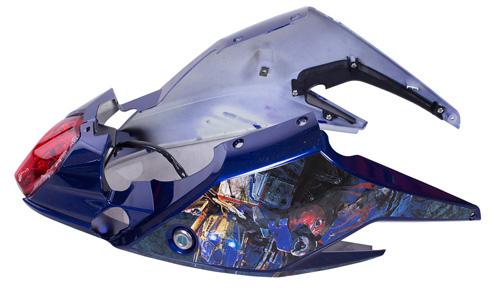 """Chiêm ngưỡng bộ tem 3D cực chất trên """"siêu xe điện dành cho cậu ấm cô chiêu"""" - 7"""