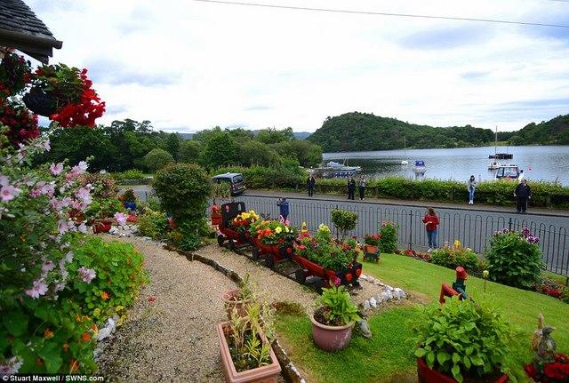 Biến vườn nhà thành điểm du lịch nổi tiếng ở Scotland - 8