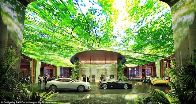 Khách sạn đầu tiên thế giới sở hữu cả một khu rừng - 4