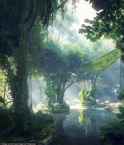 Khách sạn đầu tiên thế giới sở hữu cả một khu rừng - 2