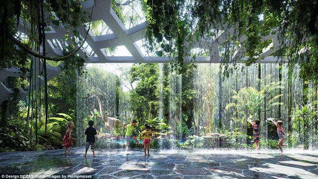 Khách sạn đầu tiên thế giới sở hữu cả một khu rừng - 1