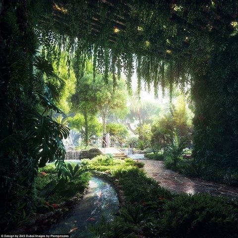 Khách sạn đầu tiên thế giới sở hữu cả một khu rừng - 3