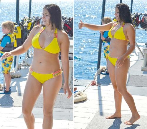 Bỏng mắt vì áo tắm cực hot của cô béo đẹp nhất nước Mỹ - 9