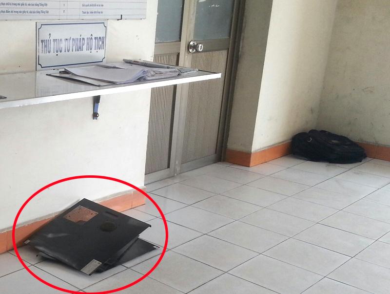 Vào tận trụ sở UBND phường trộm linh kiện máy tính - 2