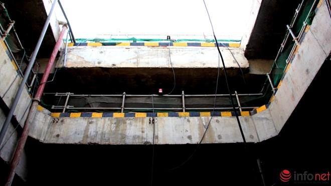 Cận cảnh đại công trường nhà ga metro dưới lòng đất - 2