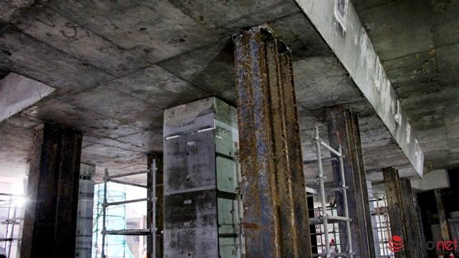 Cận cảnh đại công trường nhà ga metro dưới lòng đất - 8