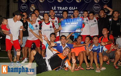 Đại diện bóng đá phủi Hà Nội tranh vé đến Real Madrid - 9