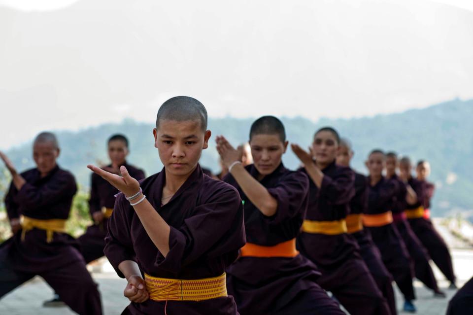 """Nơi huấn luyện ni cô thành """"tuyệt đỉnh kung fu"""" - 2"""