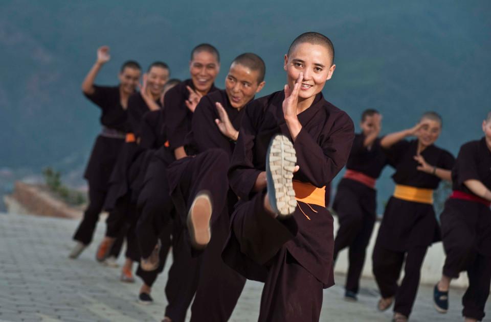 """Nơi huấn luyện ni cô thành """"tuyệt đỉnh kung fu"""" - 1"""