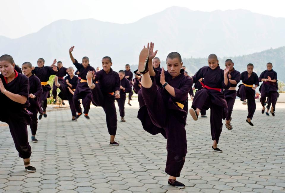 """Nơi huấn luyện ni cô thành """"tuyệt đỉnh kung fu"""" - 3"""