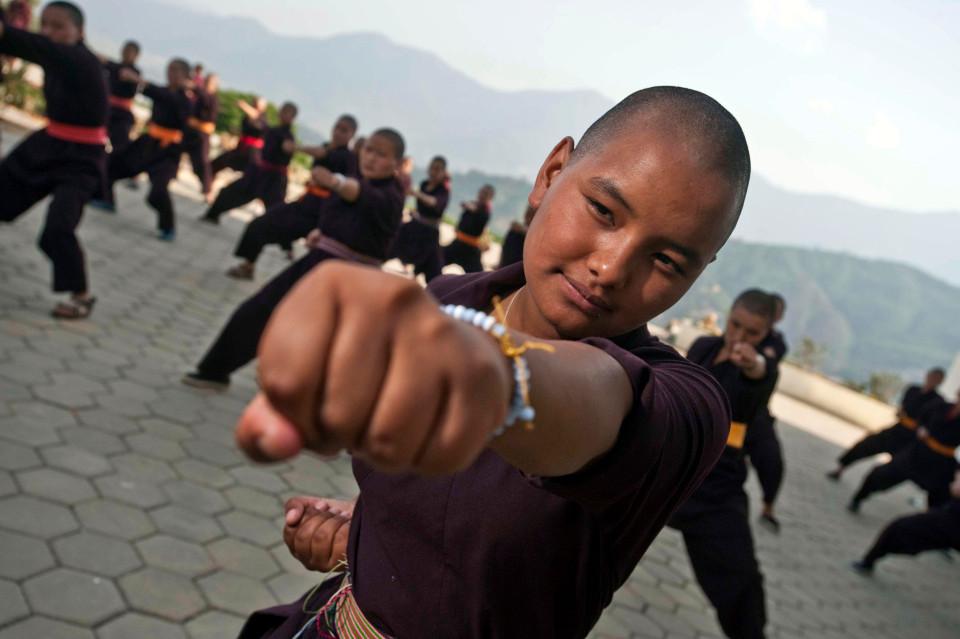 """Nơi huấn luyện ni cô thành """"tuyệt đỉnh kung fu"""" - 4"""