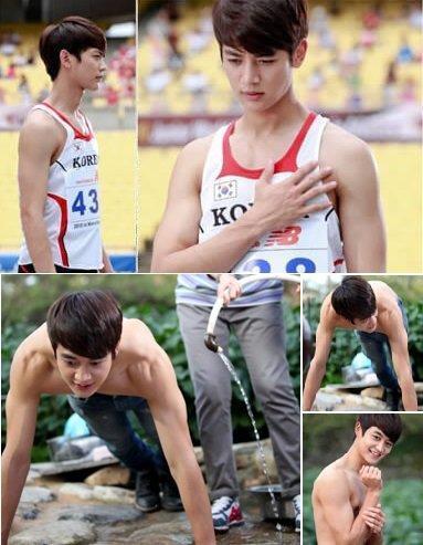 Những vận động viên thể thao hấp dẫn nhất màn ảnh Hàn - 9