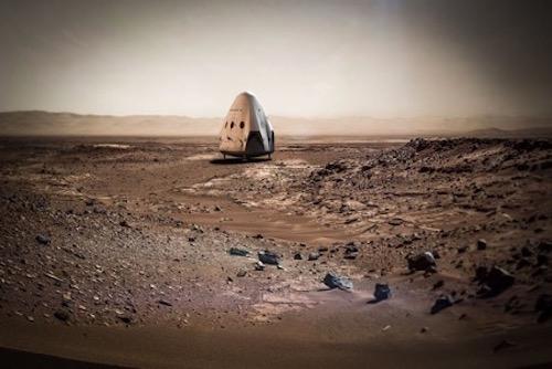 SpaceX thử nghiệm động cơ mới để đưa con người lên sao Hỏa - 1