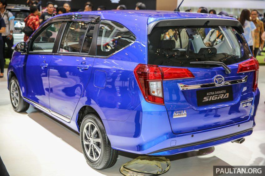 Ra mắt Daihatsu Sigra - Cặp song sinh với Toyota Calya - 3