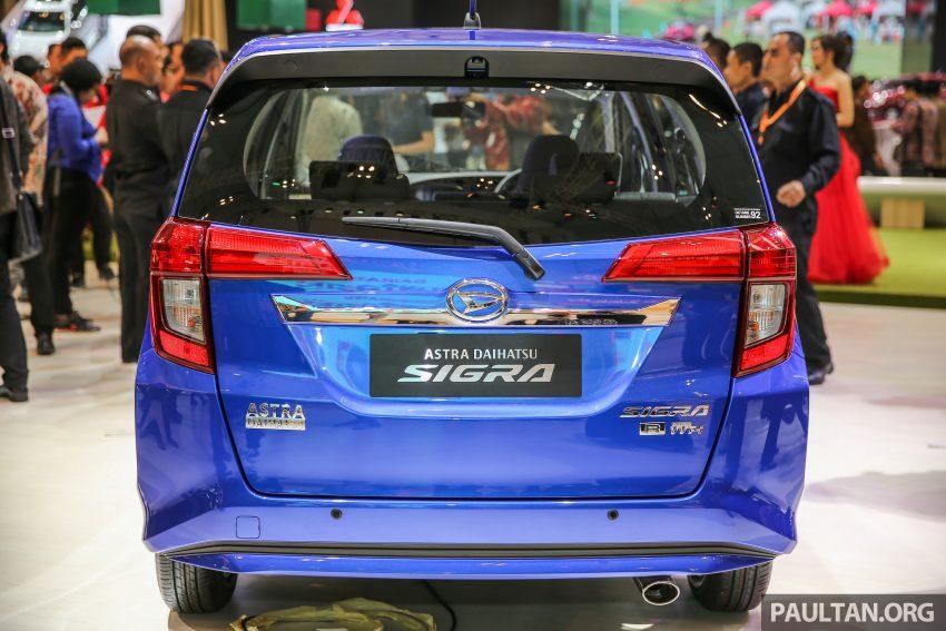 Ra mắt Daihatsu Sigra - Cặp song sinh với Toyota Calya - 4