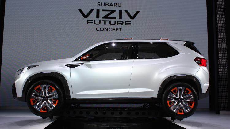 Subaru sắp tung mẫu xe chạy điện hoàn toàn - 2