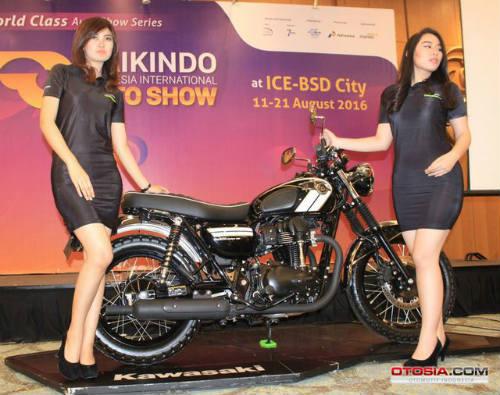 Ra mắt Kawasaki W800 giá 423,5 triệu đồng - 3