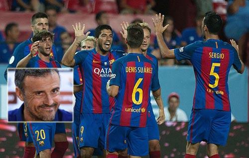 Barca thắng Sevilla: Sức mạnh chiều sâu đội hình - 1