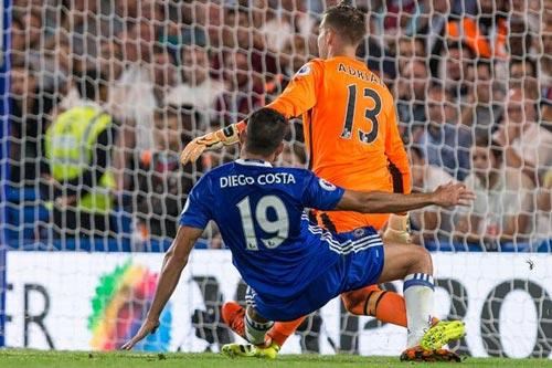 Chelsea: Thoát thẻ đỏ, Diego Costa thành cứu tinh - 1