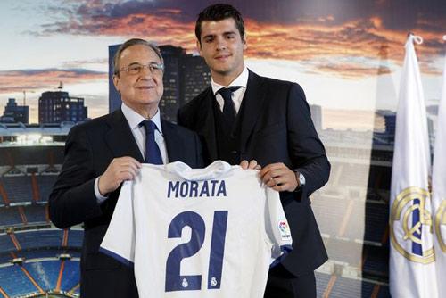 """Morata ra mắt Real, gửi chiến thư tới bộ ba """"B-B-C"""" - 1"""