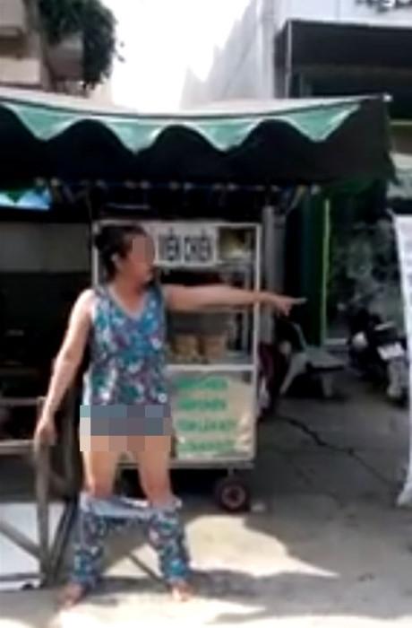 Xác minh clip phụ nữ tụt quần ở Long An gây xôn xao - 1