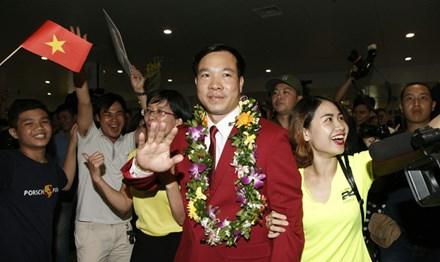 Xạ thủ Hoàng Xuân Vinh phá kỷ lục tiền thưởng - 1