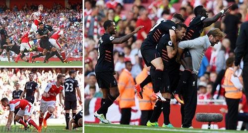 Hạ Arsenal 4-3, Liverpool bị dự đoán sẽ xuống hạng - 1