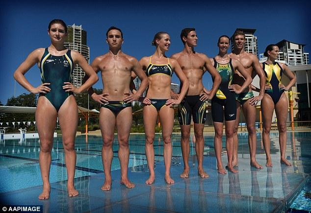 """Đồ bơi tại Olympic ngày càng """"thoáng đãng"""" - 1"""