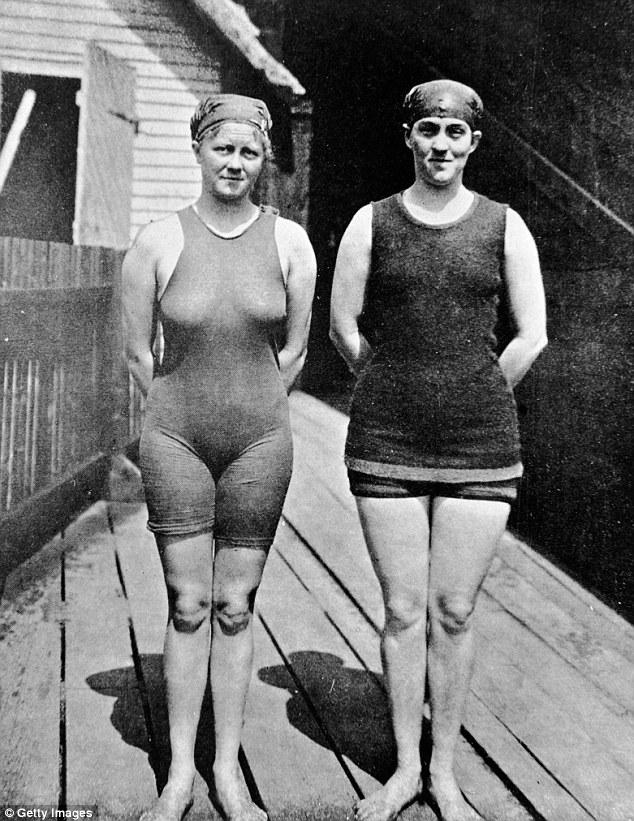 """Đồ bơi tại Olympic ngày càng """"thoáng đãng"""" - 3"""