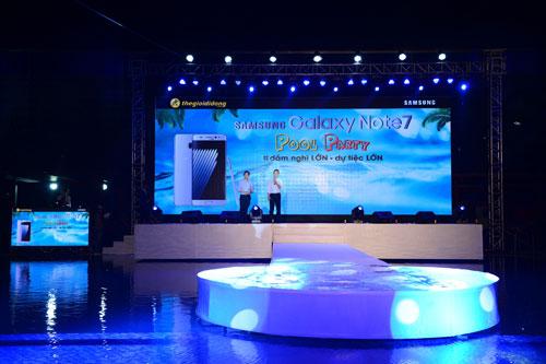 """""""Quậy"""" tưng bừng tại Pool Party chào đón Galaxy Note7 - 2"""