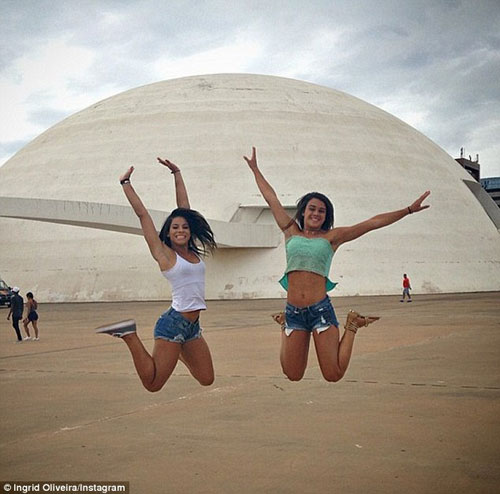 Sự cố có một không hai của nữ VĐV nóng bỏng Brazil - 9