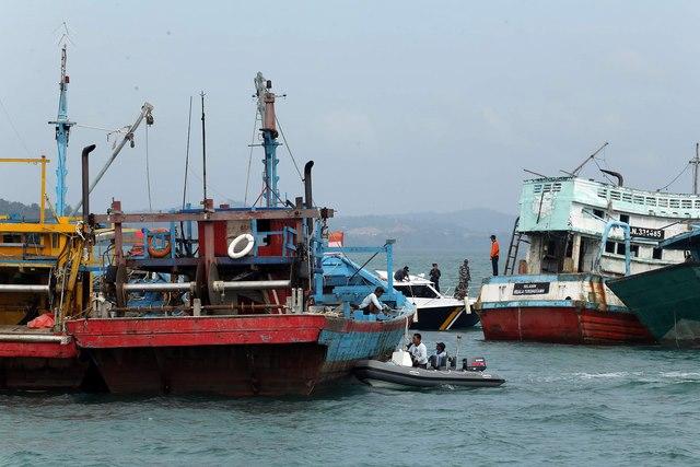 Nhân quốc khánh, Indonesia đánh chìm 71 tàu cá nước ngoài - 1