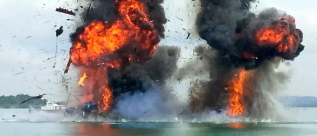 Nhân quốc khánh, Indonesia đánh chìm 71 tàu cá nước ngoài - 2