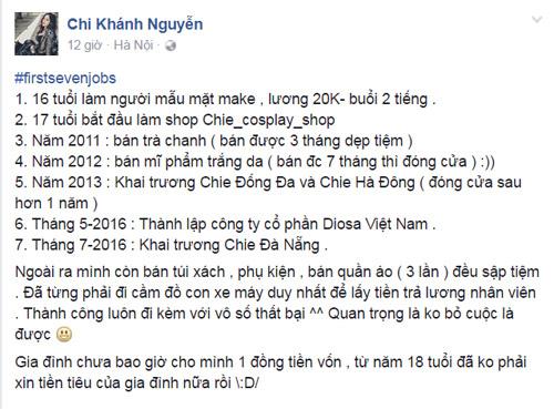 Trào lưu 7 công việc đầu đời: Linh Miu từng đi bán rau - 4