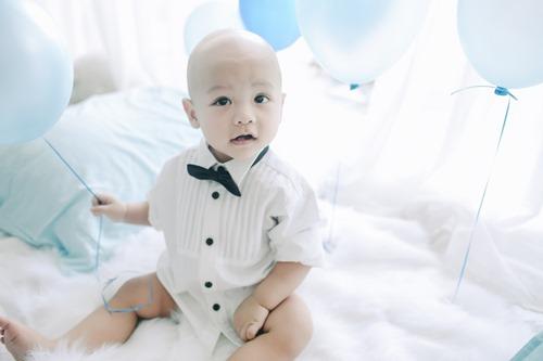 Cậu út nhà Kiwi Ngô Mai Trang bụ bẫm tròn 1 tuổi - 6
