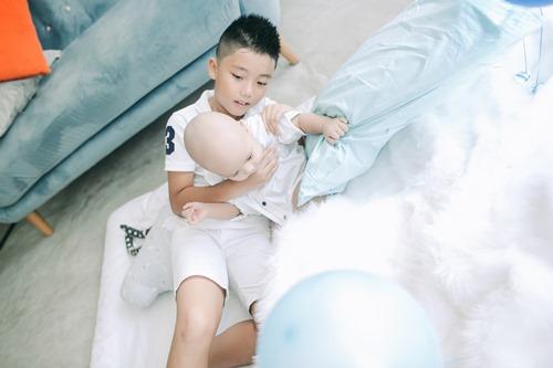 Cậu út nhà Kiwi Ngô Mai Trang bụ bẫm tròn 1 tuổi - 10