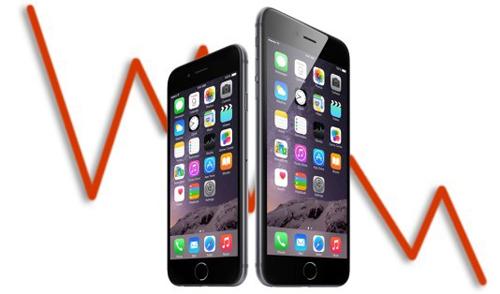 Doanh số bán iPhone sụt giảm, các nhà cung cấp bị ảnh hưởng nặng - 1