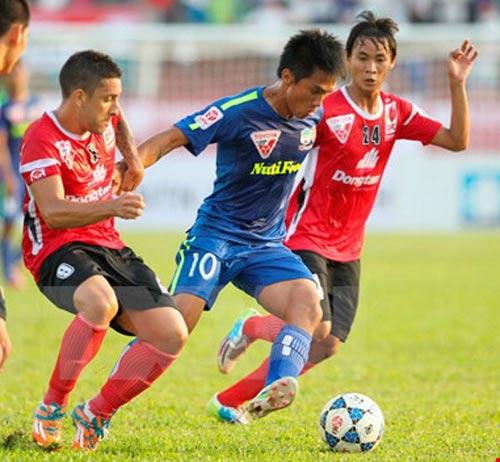 Trọng tài người Thái cầm cân trận chung kết ngược V-Leaque 2016 - 1