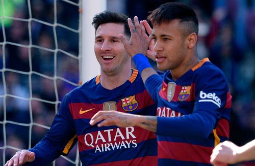 """Tin HOT tối 16/8: Messi vẫn """"bỏ xa"""" Neymar - 1"""