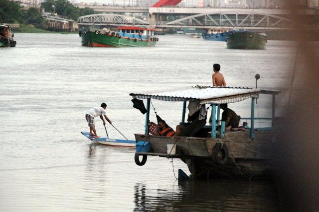 Cá vừa được phóng sinh xuống sông Sài Gòn đã bị tóm - 7