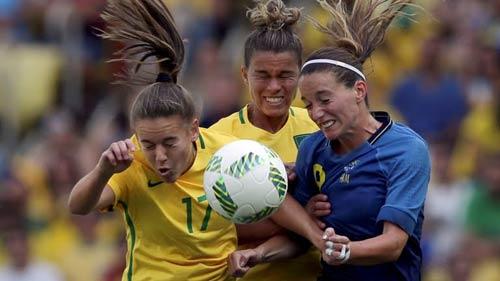 Brazil – Thụy Điển: Kết cục đau đớn (BK bóng đá nữ Olympic) - 1